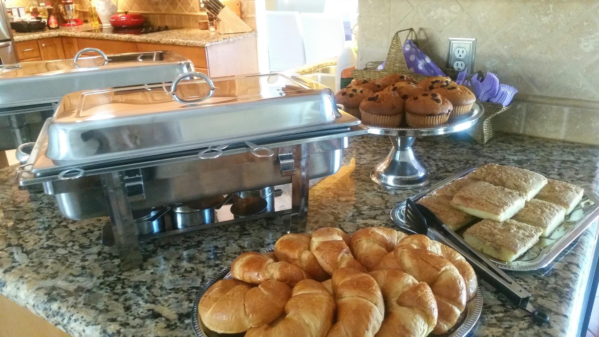 Residential Breakfast Buffet