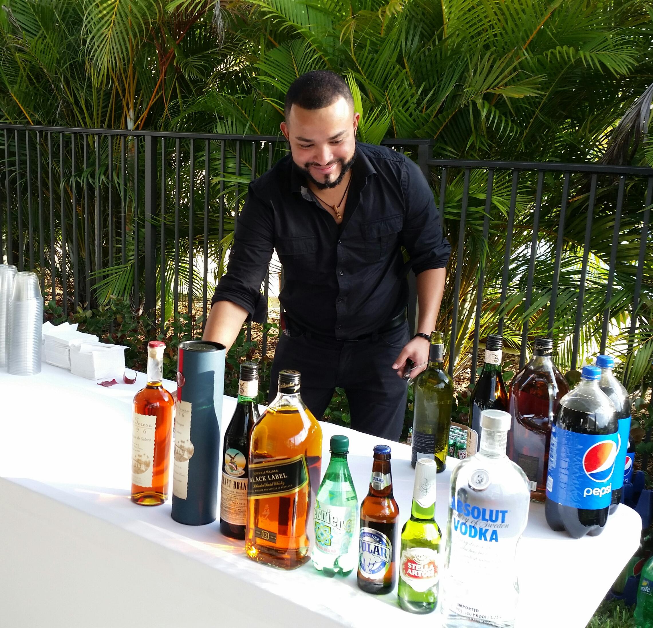 Bar Set-Up