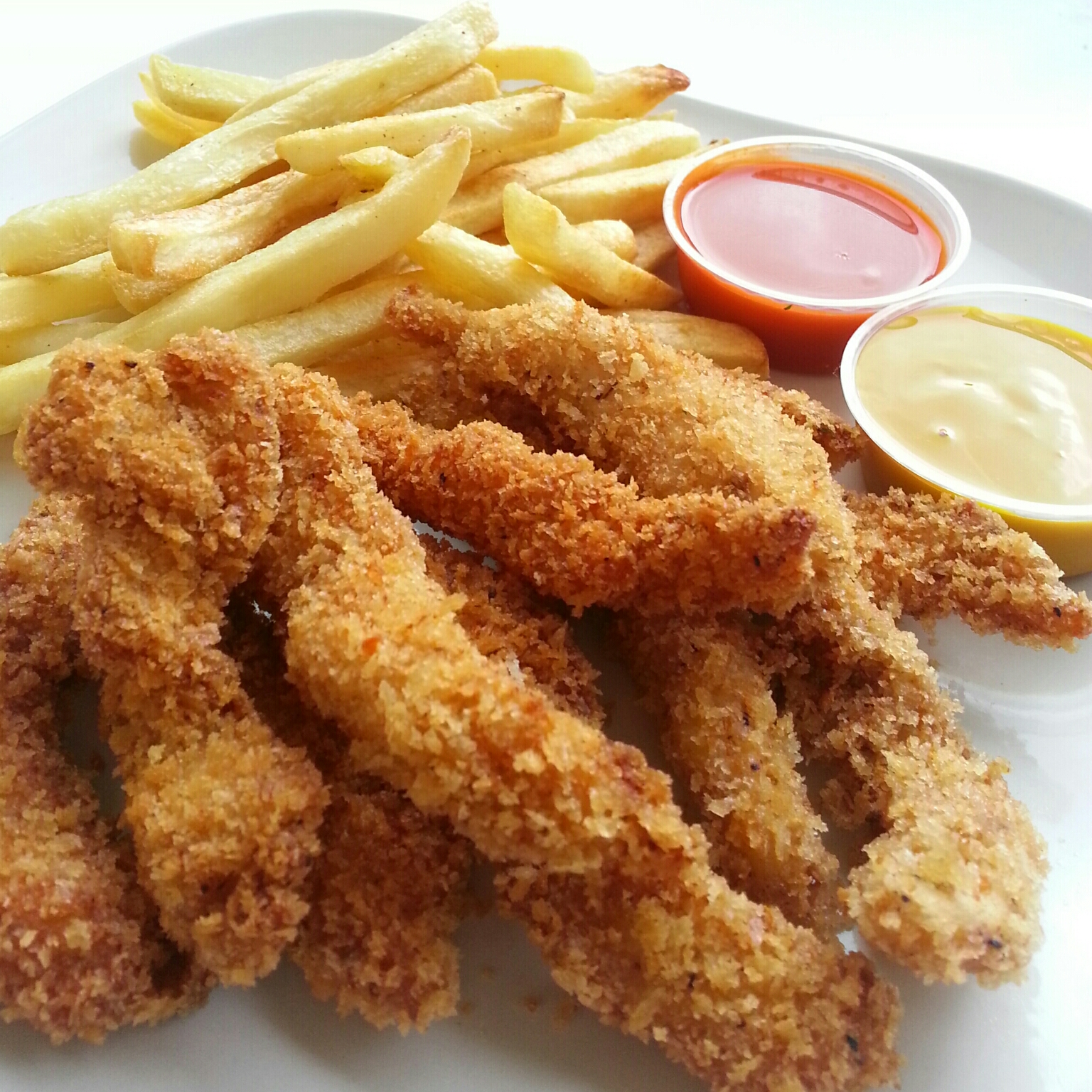 Chicken Tenders w/ French Fries