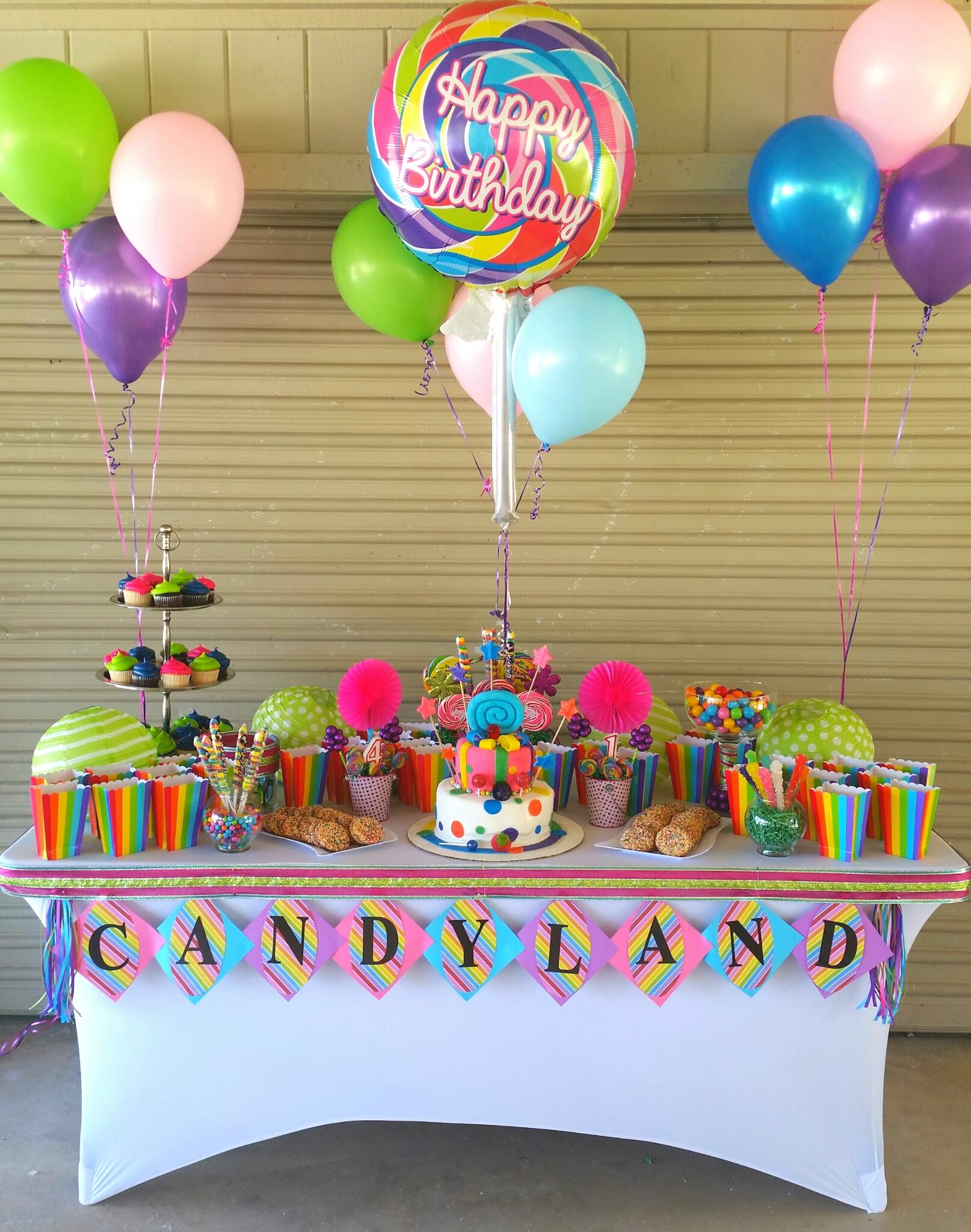 Children's Birthday Candy Station