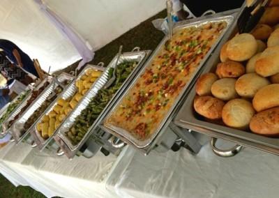 Wedding Buffet Set-Up  Jupiter, FL