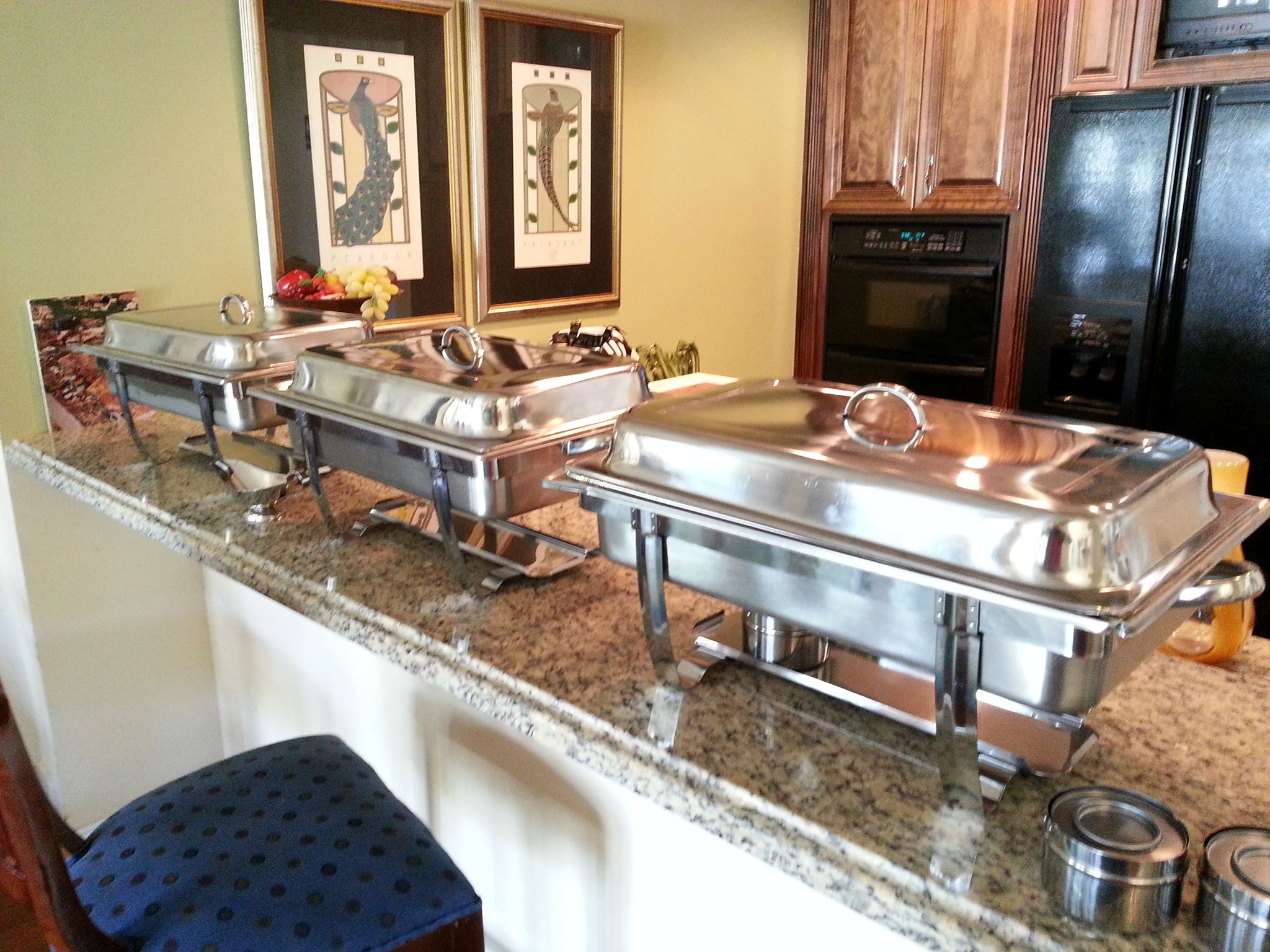 Corporate Catering Buffet Set-Up