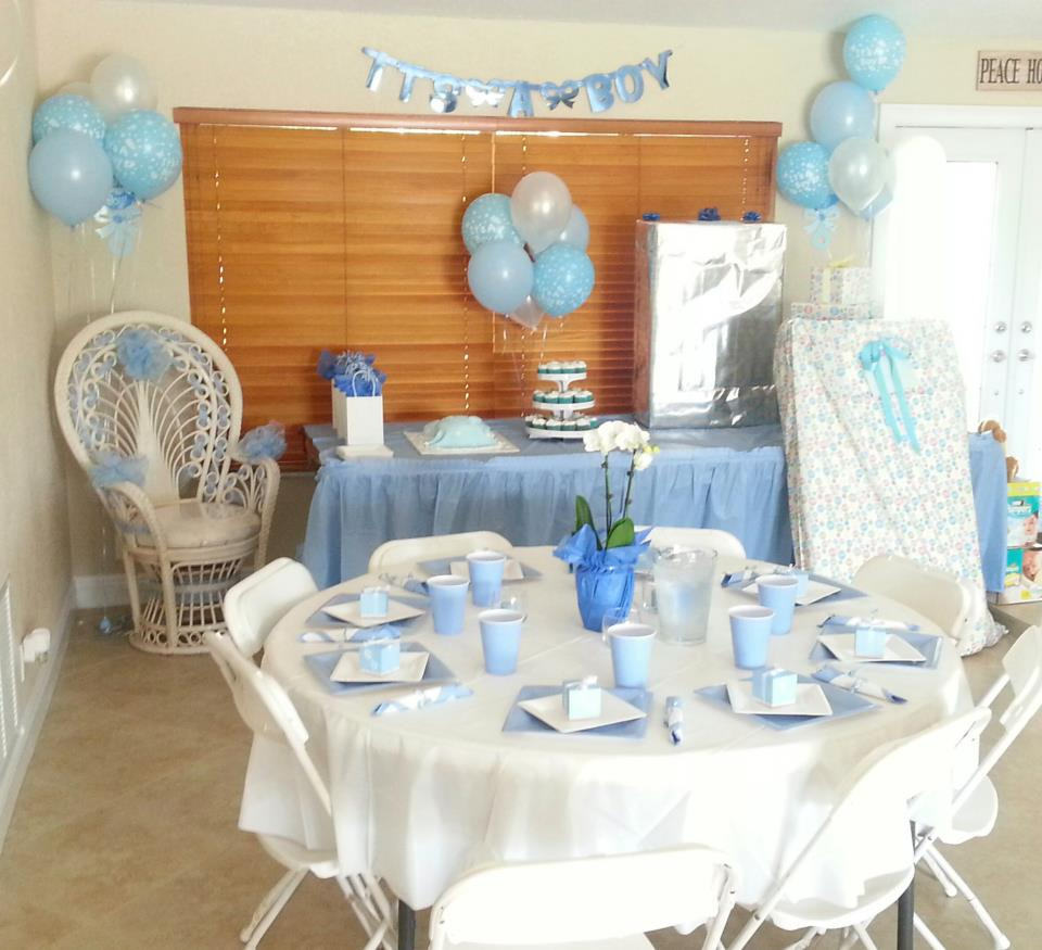 Boy's Baby Shower Coral Springs, FL
