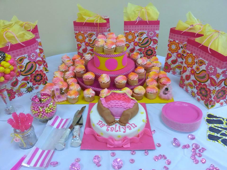 Girls Baby Shower Royal Palm Beach Fl Sunshines Catering